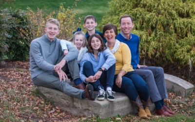 Waterfront Fall Family Session